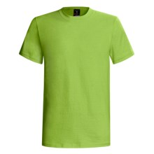 Hanes Beefy-T® T-Shirt - Short Sleeve (For Men and Women) in Yellow Green - 2nds