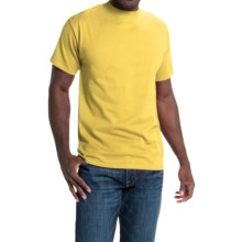 Hanes Beefy-T® T-Shirt - Short Sleeve (For Men and Women) in Yellow - 2nds