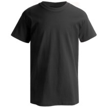 Hanes Classics ComfortSoft T-Shirt - Short Sleeve (For Little and Big Boys) in Black - 2nds