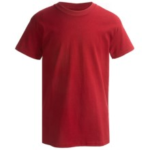 Hanes Classics ComfortSoft T-Shirt - Short Sleeve (For Little and Big Boys) in Red - 2nds