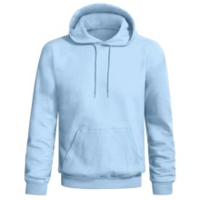 Hanes Comfort-Blend Fleece Hoodie (For Men and Women) in Light Blue - 2nds