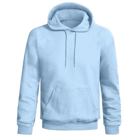 Hanes Comfort-Blend Fleece Hoodie (For Men and Women) in Light Blue