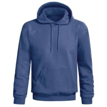 Hanes Comfort-Blend Fleece Hoodie Sweatshirt - Pullover (For Men and Women) in Dark Blue - 2nds