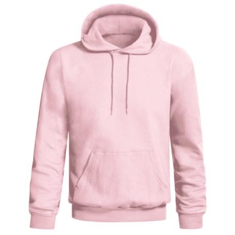 Hanes Comfort-Blend Fleece Hoodie Sweatshirt - Pullover (For Men and Women) in Pink
