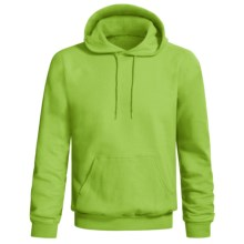 Hanes Comfort-Blend Fleece Hoodie Sweatshirt - Pullover (For Men and Women) in Yellow Green - 2nds
