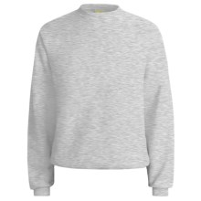Hanes Comfort-Blend Fleece Sweatshirt - Crew Neck, Long Sleeve (For Men and Women) in Grey Heather - 2nds
