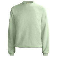 Hanes Comfort-Blend Fleece Sweatshirt - Crew Neck, Long Sleeve (For Men and Women) in Stonewashed Green - 2nds