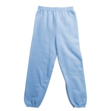 Hanes Comfort Blend Sweatpants (For Youth) in Light Blue - 2nds