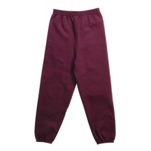 Hanes Comfort Blend Sweatpants (For Youth) in Wine - 2nds