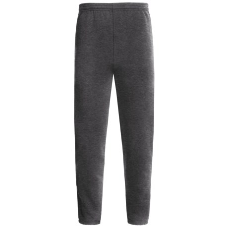 Hanes Comfortblend Fleece Sweatpants (For Men and Women) in Grey Heather