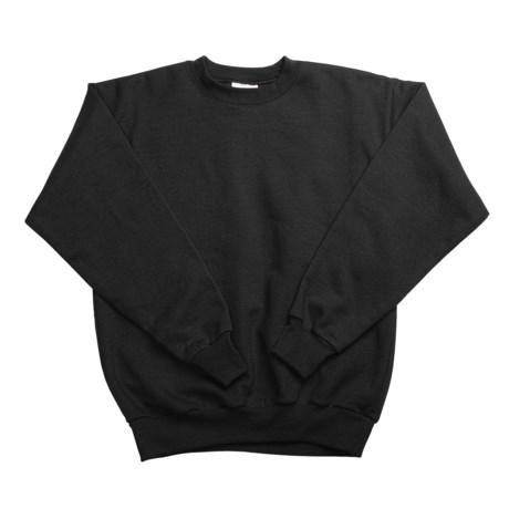 Hanes Comfortblend Fleece Sweatshirt - Crew Neck (For Little and Big Kids) in Black