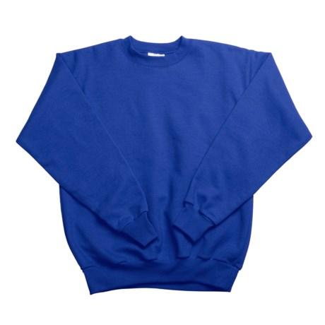 Hanes Comfortblend Fleece Sweatshirt - Crew Neck (For Little and Big Kids) in Royal