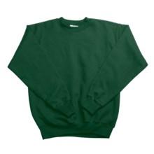 Hanes Comfortblend Fleece Sweatshirt - Crew Neck (For Youth) in Dark Green - 2nds