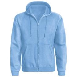 Hanes ComfortBlend® Hoodie - Full Zip (For Men and Women) in Light Blue