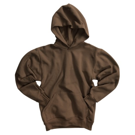 Hanes Comfortblend Pullover Hoodie (For Youth) in Brown