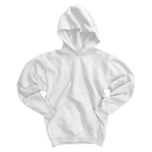 Hanes Comfortblend Pullover Hoodie Sweatshirt (For Youth) in White - 2nds