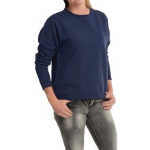 Hanes Comfortblend Sweatshirt (For Women) in Navy - 2nds
