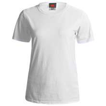 Hanes ComfortSoft Cotton T-Shirt - Short Sleeve (For Women) in White - 2nds