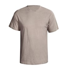 Hanes Comfortsoft Heavyweight T-Shirt - 5.5. oz. Cotton, Short Sleeve (For Men and Women) in Tan - 2nds