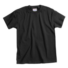 Hanes Comfortsoft T-Shirt - Heavyweight, Short Sleeve (For Youth) in Black - 2nds