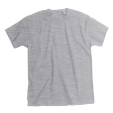 Hanes Comfortsoft T-Shirt - Heavyweight, Short Sleeve (For Youth) in Grey Heather - 2nds