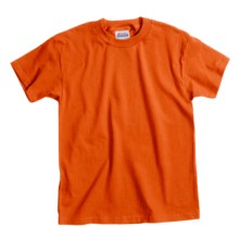 Hanes Comfortsoft T-Shirt - Heavyweight, Short Sleeve (For Youth) in Orange - 2nds
