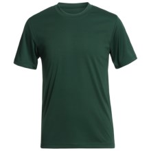 Hanes Cool-DRI® High-Performance T-Shirt - UPF 50+, Short Sleeve (For Youth) in Dark Green - 2nds