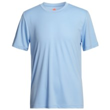 Hanes Cool-DRI® High-Performance T-Shirt - UPF 50+, Short Sleeve (For Youth) in Light Blue - 2nds