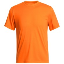 Hanes Cool-DRI® High-Performance T-Shirt - UPF 50+, Short Sleeve (For Youth) in Orange - 2nds