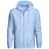 Hanes Cotton-Rich 9 OZ Fleece Hoodie - Full-Zip (For Men and Women)