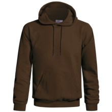 Hanes Cotton-Rich 9 oz Hoodie - No Shrink, Pill Resistant (For Men and Women) in Brown - 2nds