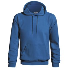 Hanes Cotton-Rich 9 oz Hoodie - No Shrink, Pill Resistant (For Men and Women) in Royal - 2nds