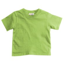Hanes Cotton T-Shirt - Short Sleeve (For Toddlers) in Yellow Green - 2nds