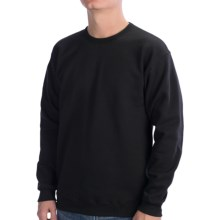 Hanes Fleece Sweatshirt (For Men and Women) in Black - 2nds