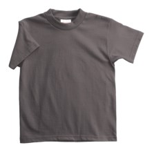 Hanes Heavyweight 50/50 T-Shirt - Short Sleeve (For Youth) in Dark Grey - 2nds