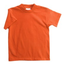 Hanes Heavyweight 50/50 T-Shirt - Short Sleeve (For Youth) in Orange - 2nds