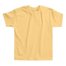 Hanes Open End Cotton Needle Tee (For Infants) in Yellow - 2nds