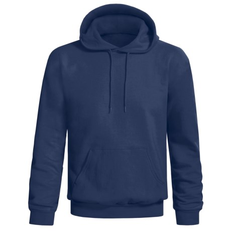 Hanes Printpro Cotton-Rich Fleece Pullover Hoodie (For Men and Women) in Dark Blue