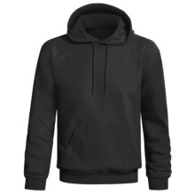 Hanes Printpro Cotton-Rich Fleece Pullover Hoodie Sweatshirt (For Men and Women) in Black - 2nds