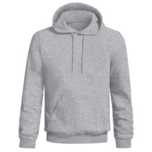 Hanes Printpro Cotton-Rich Fleece Pullover Hoodie Sweatshirt (For Men and Women) in Grey Heather - 2nds