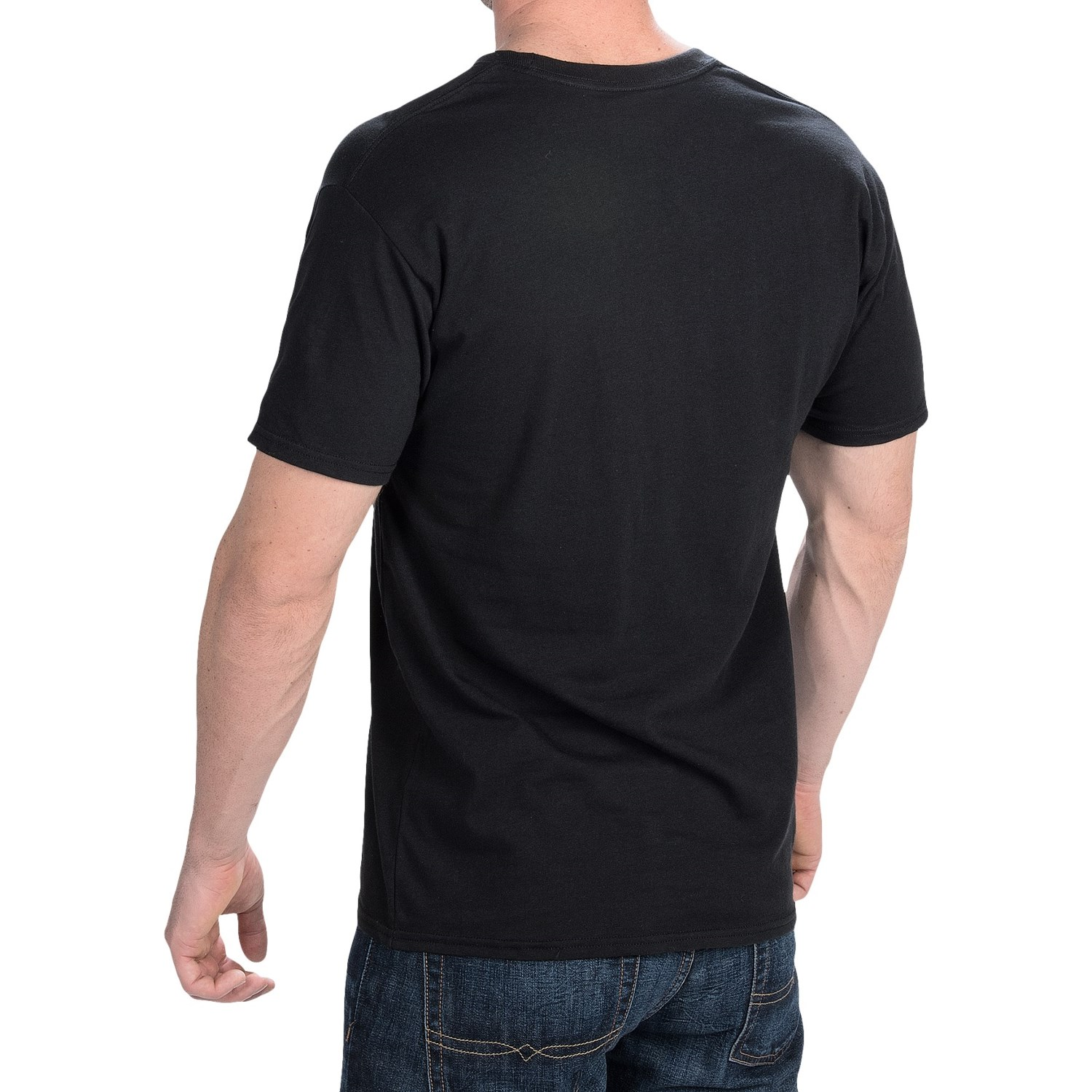Hanes Solid V Neck T Shirt For Men And Women Save 55