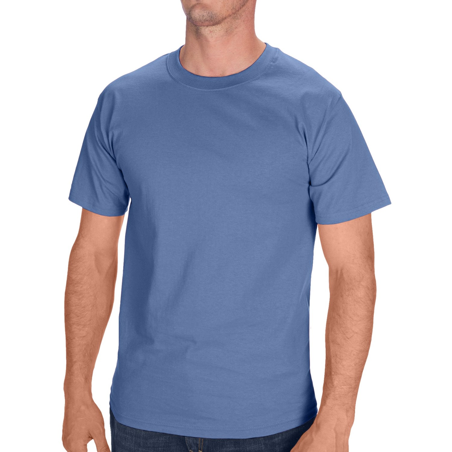hanes tagless cotton t shirt short sleeve for men and