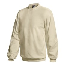 Hanes Ultimate Cotton Crew Fleece Sweatshirt  (For Men and Women) in Natural - 2nds
