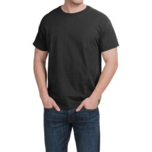 Hanes X-Temp® T-Shirt - Short Sleeve (For Men and Women) in Black - 2nds