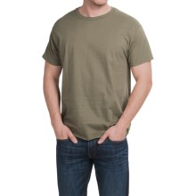 Hanes X-Temp® T-Shirt - Short Sleeve (For Men and Women) in Light Brown - 2nds