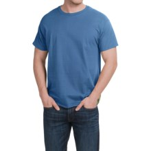 Hanes X-Temp® T-Shirt - Short Sleeve (For Men and Women) in Medium Blue - 2nds
