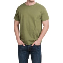 Hanes X-Temp® T-Shirt - Short Sleeve (For Men and Women) in Olive - 2nds