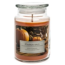 Hanna's Candle Natural Soy Blend Jar Candle - 23 oz. in Pumpkin Spice - Closeouts