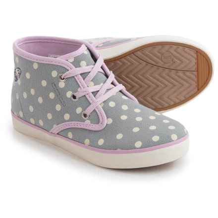 Hanna Andersson Nils3 Hi-Top Sneakers (For Little and Big Girls) in Mast Grey - Closeouts