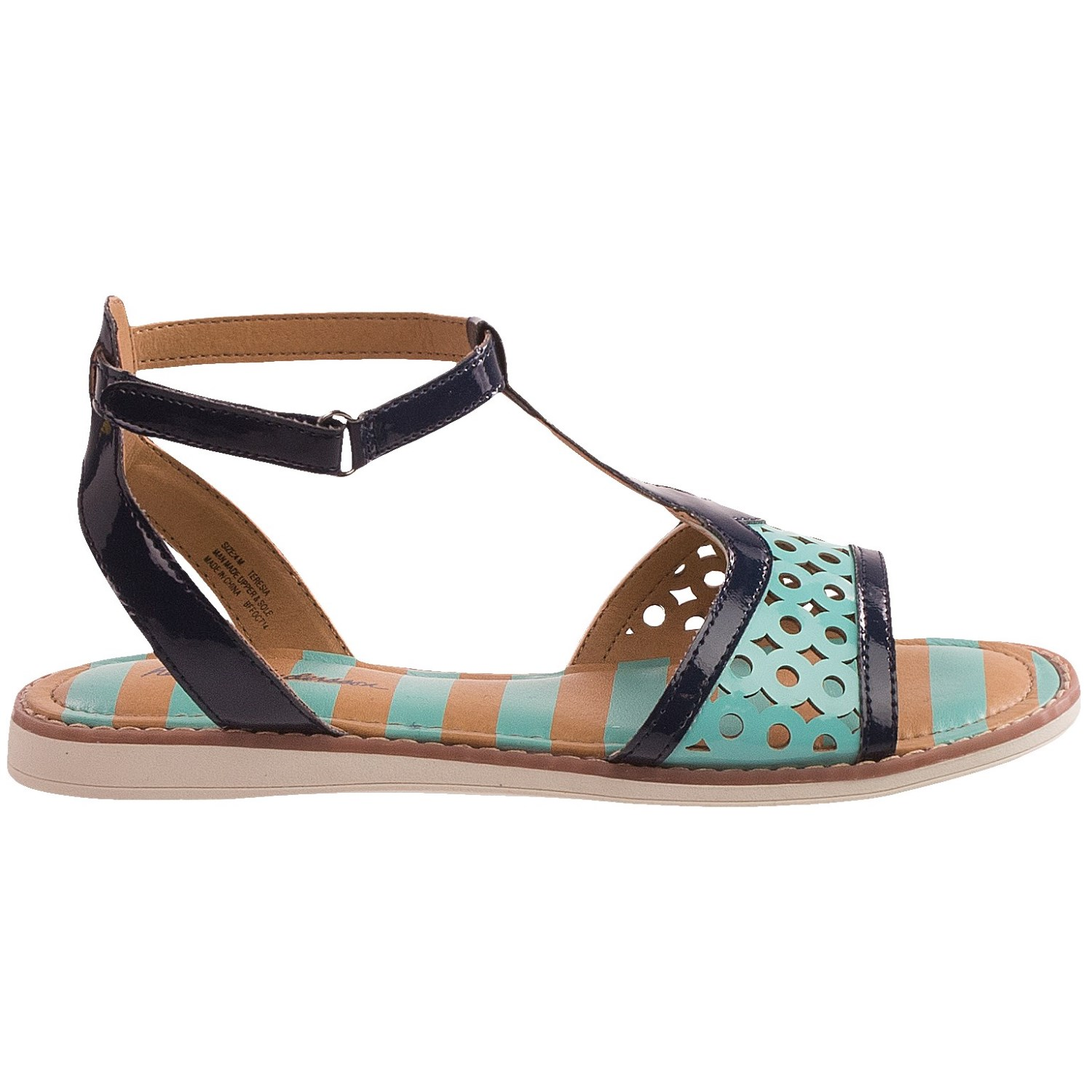 Hanna Andersson Teresia T Strap Sandals For Little Girls